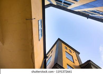 Building called Strykjarnet in Norrkoping, Sweden