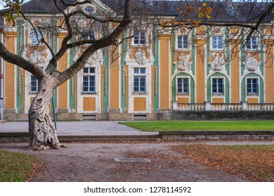 A building of the castle of Bruchsal/Germany