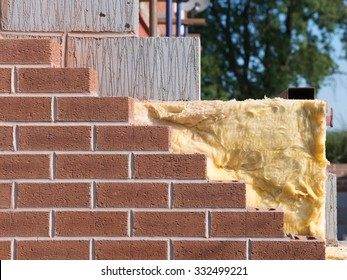 building with cavity wall insulation
