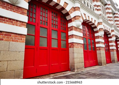 Building of Central fire station in Singapore