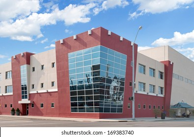 Building with Corner Windows