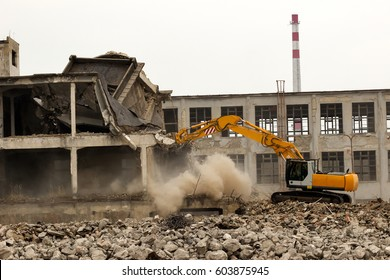 Building demolition