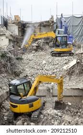 The Building Demolition Site