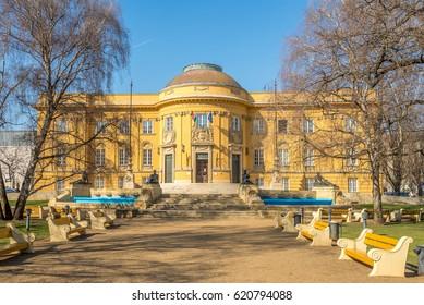 Building of Deri museum in Debrecen city of Hungary