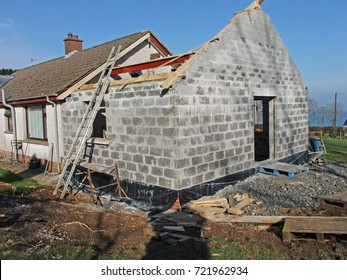Building Extension in house Co. Antrim Northern Ireland