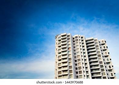 Building exterior of Modern apartment