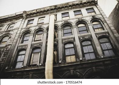 Building Exterior, Old Tenement, Renovations