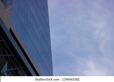 The Building Faced With Blue Skies