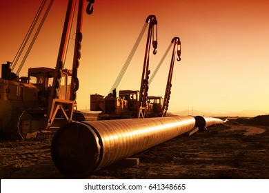 building gas pipeline