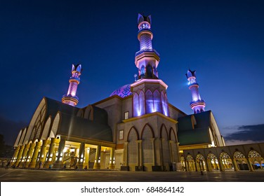 Building of Hubbul Wathan Mosque, Islamic Centre of West Nusa Tenggara, Lombok, Indonesia