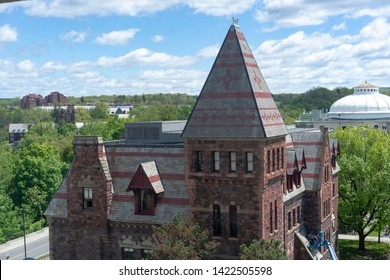 The building in Ivy League university campus /cornell university