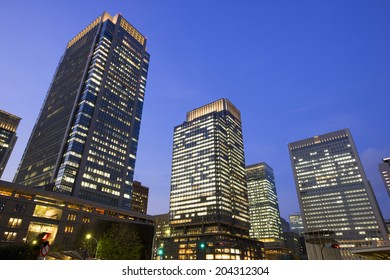 The Building In Japan And Tokyo Station