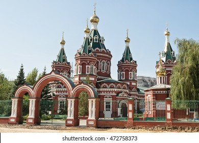 The building of the Kazan Cathedral in Volgograd
