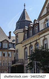 Building in Luxembourg City. - Shutterstock ID 146525627