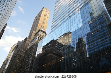 building in Manhattan - New-York - USA