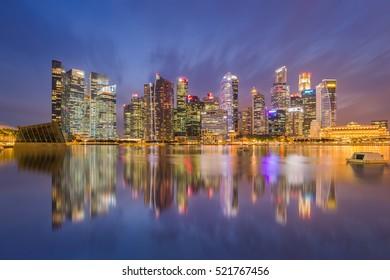Building at marina bay  ,Singapore 14/10/2559