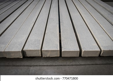 Building Materials made of the fiber cement used for making the battens or floor coverings in Thailand