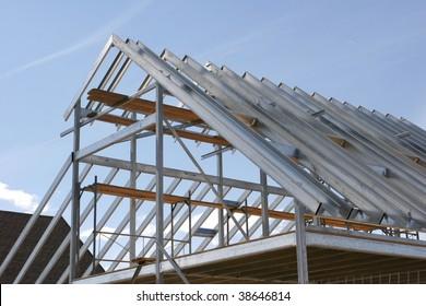 Building a Metallic Frame House