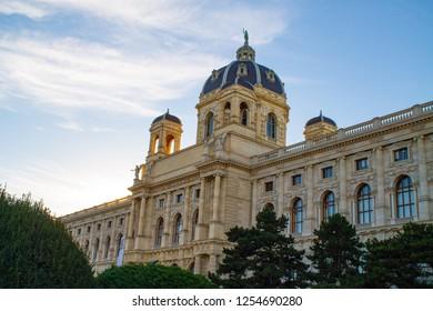Building Museum Palace Vienna Austria