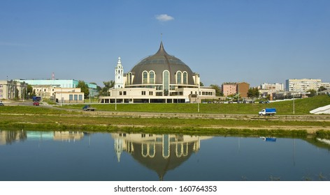 Building of Museum of Weapons in town Tula, Russia.