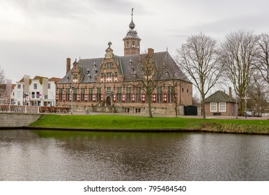 building named Kloveniersdoelen in Middelburg located in the dutch province of Zeeland