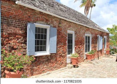Building, Nelson's Dockyard, Antigua, Caribbean