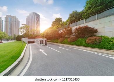 Building parking lot
