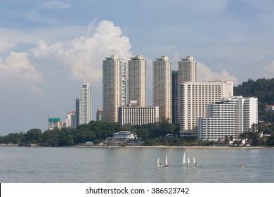 Building in penang , malaysia
