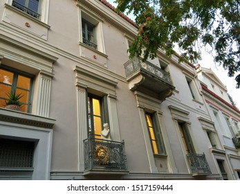 Building in Plaka district of Athens