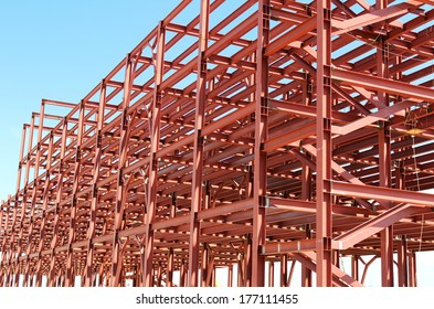 Building of the Plant with Pattern of Frame