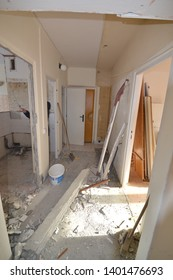 Building reconstruction of panel flat