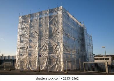 Imágenes, fotos de stock y vectores sobre Construction Tarp