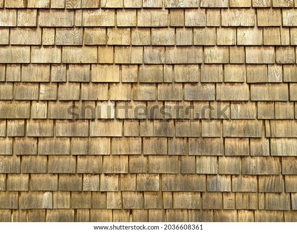 building siding made from pine wood tile pattern