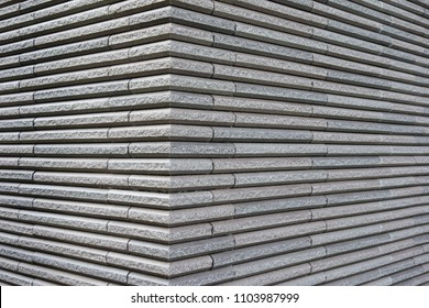 Building of siding outer wall