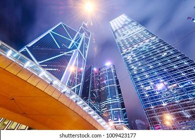 Building to sky