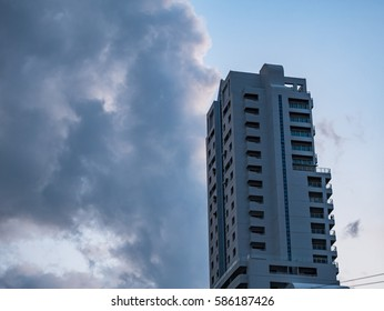 The building in the sky