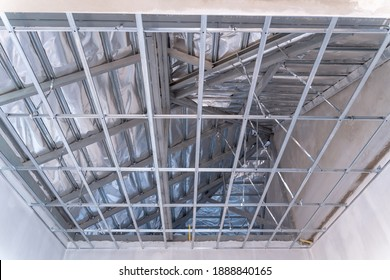 building structure construction ceiling work