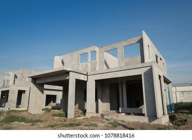 Building structure are made from prefabrication system.All pieces are made from high-strength concrete.Then assembled into a building.