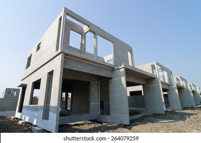 The  building structure are made from prefabrication system.