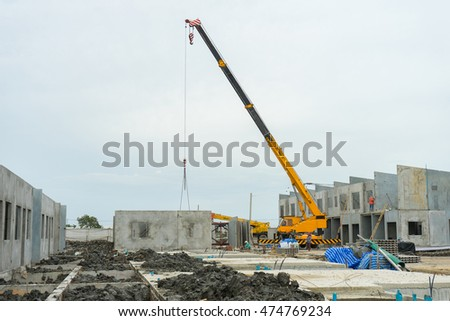 Building Structure Made Prefabrication System Steel Stock Photo ...