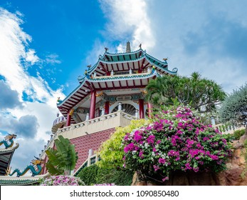 building at Taoist temple in cebu city, Philippines