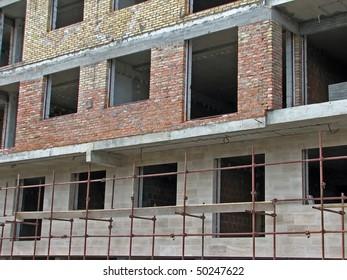 building tenement. building dwelling house.