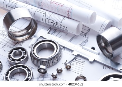 Building tools on a background of the drawing.