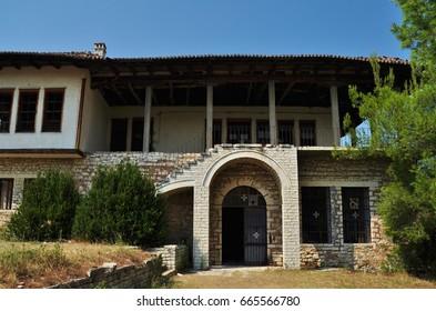 Building at the top of Berat Castle, Berat, Albania