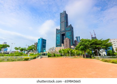 Building view in Kaohsiung city Taiwan