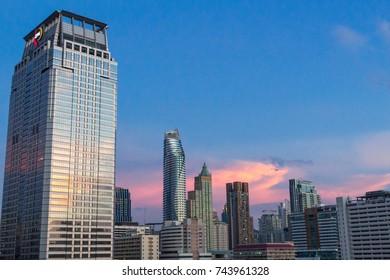 Building View at Siam,  Bangkok, Thailand :  22nd Oct, 2017