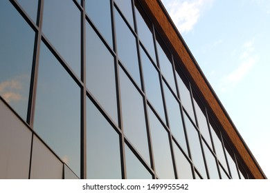 building windows glass perspective finance business office city architecture