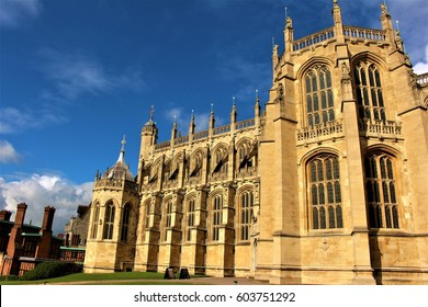 A building in the Windsor Castle complex.