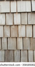 building wooden shingle wall material