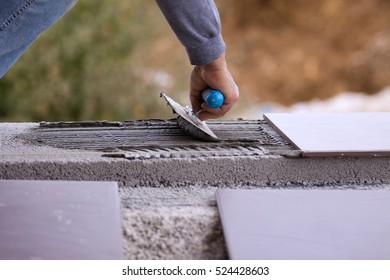 building,fitting the floor